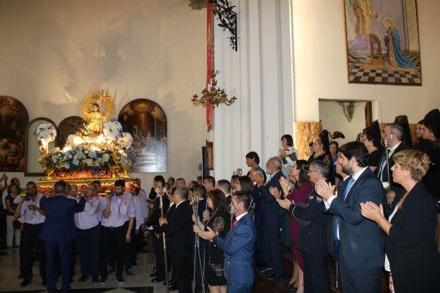 Fernando López Miras asiste en Mula a la procesión del Niño Jesús del Balate - 2, Foto 2