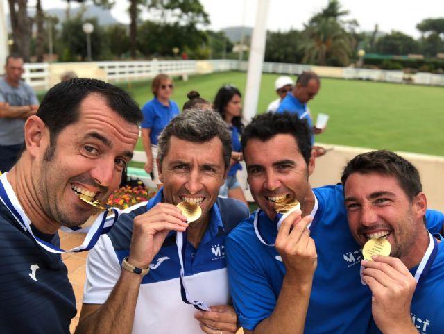 The totanero Pedro Cánovas, Senior European Champion +35 for the second consecutive year with the Murcia Tennis Club, Foto 1