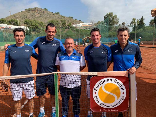 The totanero Pedro Cánovas, Senior European Champion +35 for the second consecutive year with the Murcia Tennis Club, Foto 2