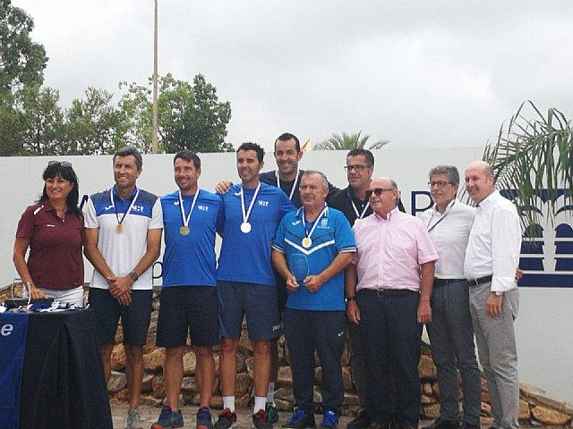 The totanero Pedro Cánovas, Senior European Champion +35 for the second consecutive year with the Murcia Tennis Club, Foto 3