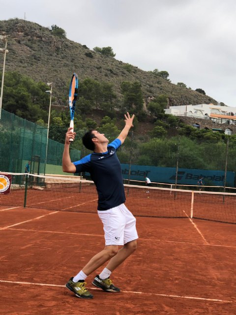 The totanero Pedro Cánovas, Senior European Champion +35 for the second consecutive year with the Murcia Tennis Club, Foto 4