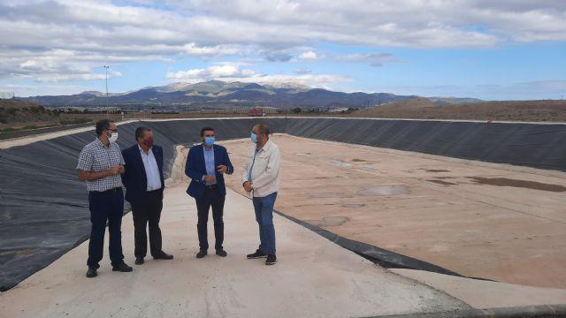 [Concluye la construcción del tanque de tormentas y laminación de caudales de Totana