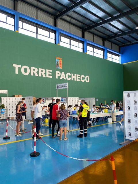 Jornada de vacunación meningitis en Torre Pacheco - 1, Foto 1