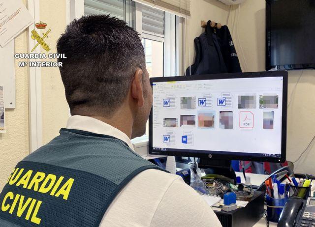 La Guardia Civil detiene a un vecino de Cieza por acosar a través de redes sociales a una joven con pretensiones sexuales - 1, Foto 1