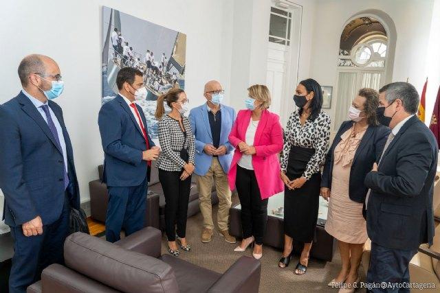 La Comunidad compromete los 2 primeros millones de euros para iniciar la urbanización de la ZAL de Cartagena - 2, Foto 2