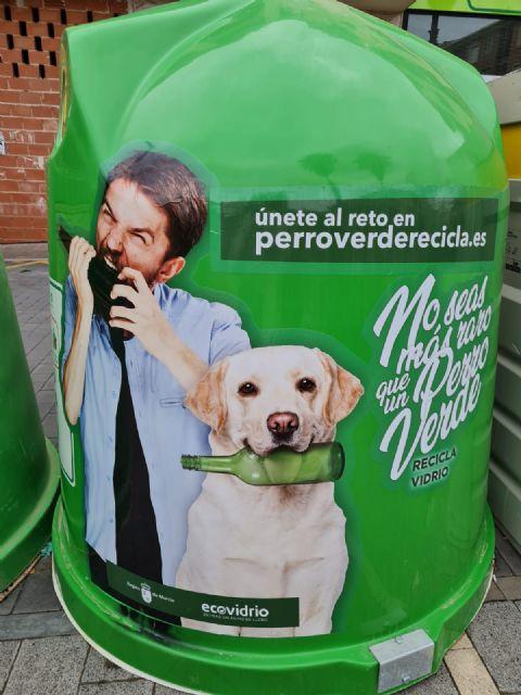 Bullas se suma a la campaña ´No seas más raro que un perro verde, Recicla Vidrio´ - 1, Foto 1