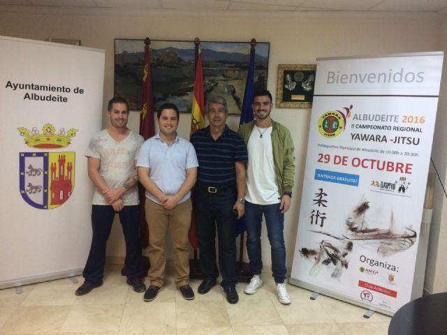 El próximo sábado 29 de octubre Albudeite acogerá el II Campeonato Regional de Yawara-Jitsu en el Pabellón municipal Antonio Cañadas - 1, Foto 1