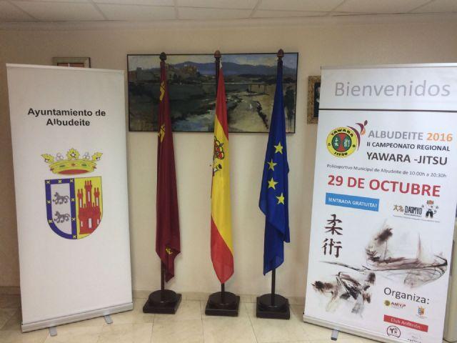 El próximo sábado 29 de octubre Albudeite acogerá el II Campeonato Regional de Yawara-Jitsu en el Pabellón municipal Antonio Cañadas - 2, Foto 2