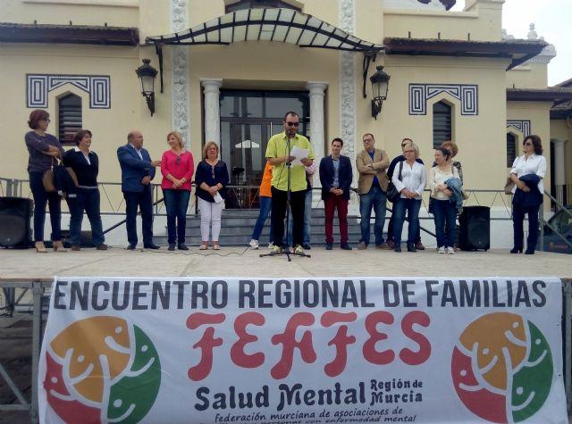 AFEMCE y FEAFES conmemoran el Día Mundial de la Salud Mental con la celebración del XVIII Encuentro Regional de Familias en Cieza - 1, Foto 1
