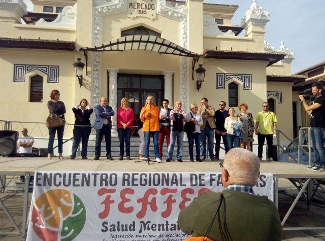 AFEMCE y FEAFES conmemoran el Día Mundial de la Salud Mental con la celebración del XVIII Encuentro Regional de Familias en Cieza - 2, Foto 2