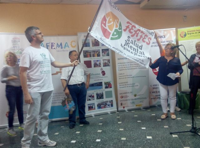 AFEMCE y FEAFES conmemoran el Día Mundial de la Salud Mental con la celebración del XVIII Encuentro Regional de Familias en Cieza - 5, Foto 5