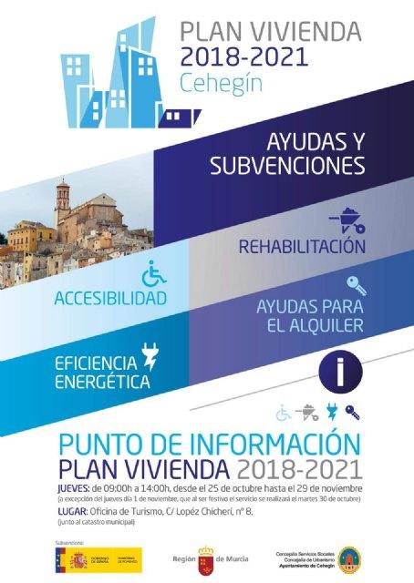 El PP denuncia que el PSOE de Totana se negó a ver en el Pleno de Septiembre su propuesta para que en Totana se pusiera en marcha una OFICINA DE INFORMACIÓN sobre el PLAN DE VIVIENDA 2018-2021 - 1, Foto 1