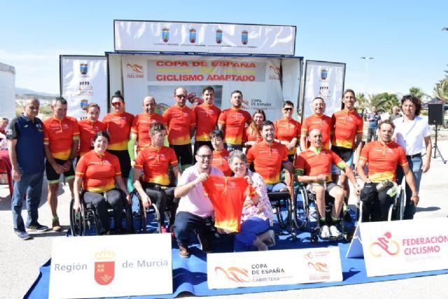 Mazarrón celebró la Copa de España de Ciclismo Adaptado con presencia de todos los tipos de bicicletas, Foto 1