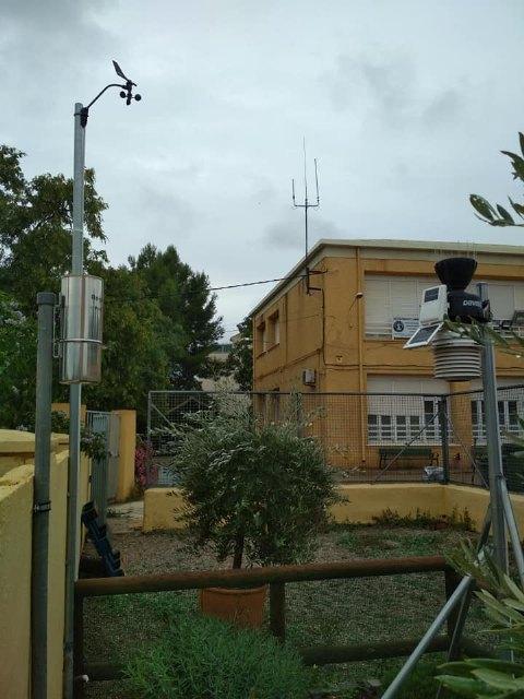 Lluvia muy beneficiosa la que nos ha dejado este episodio, seg�n informa Protecci�n Civil de Totana, Foto 2