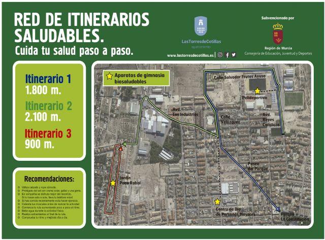 Las Torres de Cotillas estrena sus itinerarios saludables con una jornada popular - 1, Foto 1