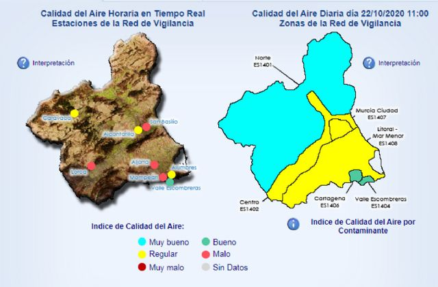 Activado el nivel 1 preventivo por contaminación en La Aljorra - 1, Foto 1