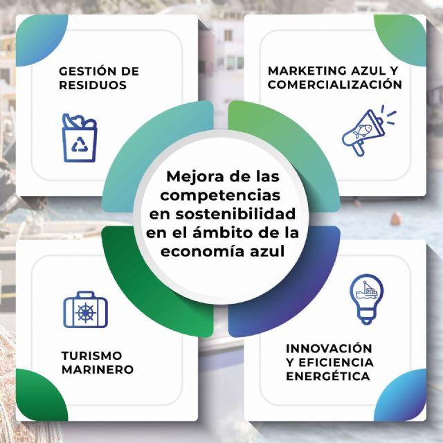 El programa de formación Actuazul de Cepesca abre el periodo de inscripción para trabajadores residentes en Murcia - 1, Foto 1