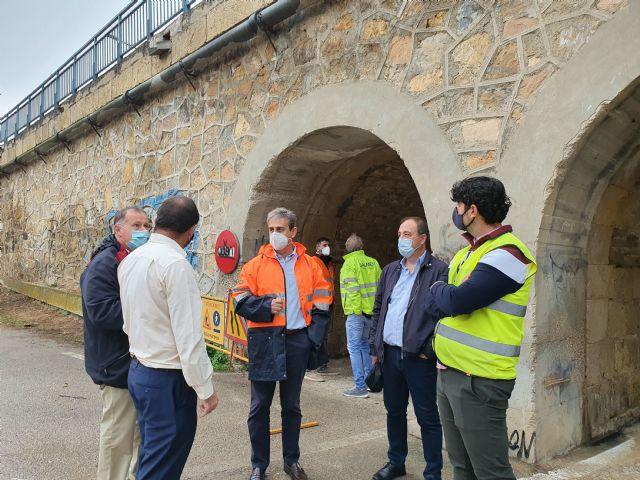 Fomento refuerza la seguridad del puente de hierro de Archena - 1, Foto 1