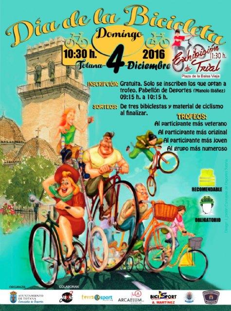 El Día de la Bicicleta se celebra este domingo, 4 de diciembre., Foto 2