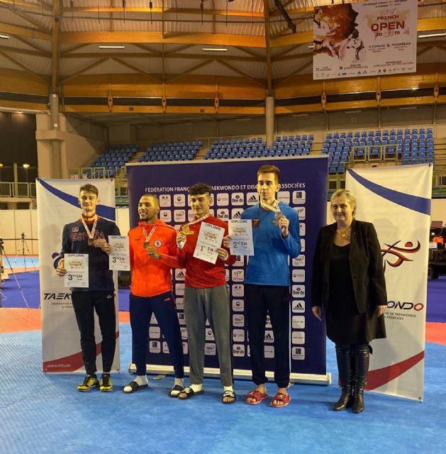 El Club Taekwondo Mazarrón brilla a bronce en el Open Internacional de París - 1, Foto 1