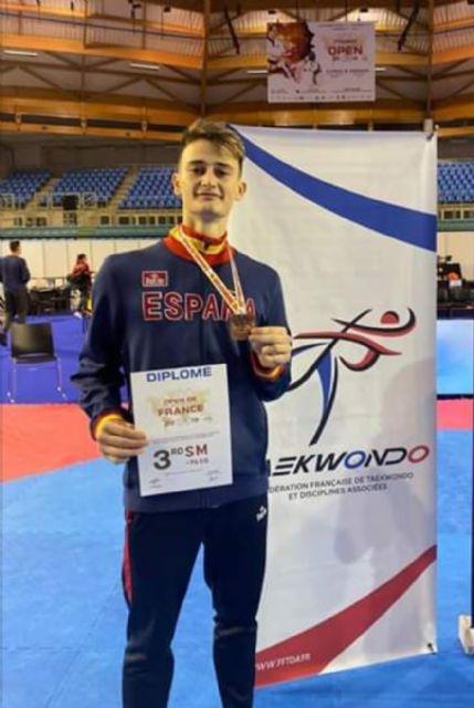 El Club Taekwondo Mazarrón brilla a bronce en el Open Internacional de París - 2, Foto 2