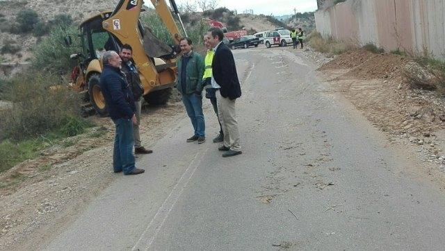 Reparación de los daños ocasionados por la DANA en el camino Cañada Gil, Ricote - 1, Foto 1
