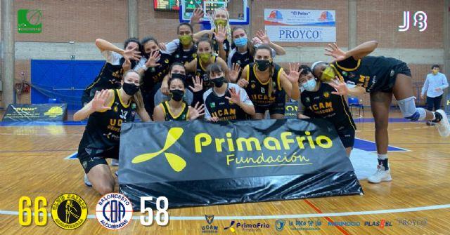 Quinta victoria de la temporada del UCAM Primafrio Jairis ante Pacisa Alcobendas - 1, Foto 1