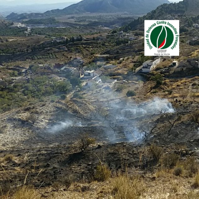 Conato de incendio forestal en La Garapacha - 1, Foto 1