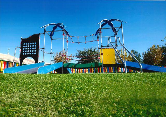 Última tecnología en material para zonas de juegos en los jardines de Alhama, Foto 1