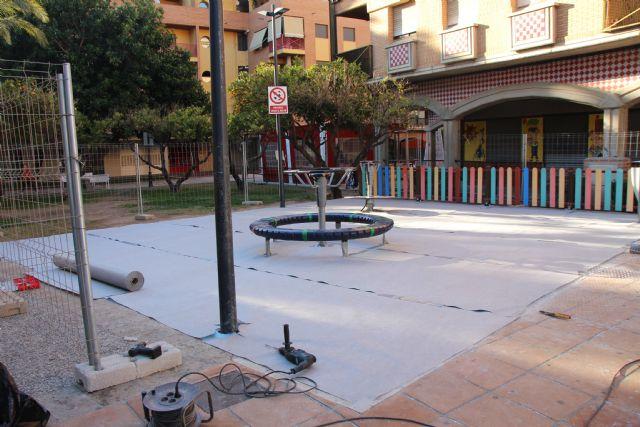 Última tecnología en material para zonas de juegos en los jardines de Alhama, Foto 2