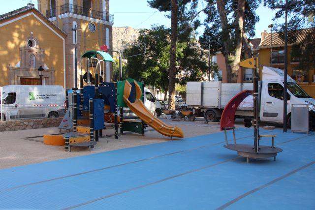 Última tecnología en material para zonas de juegos en los jardines de Alhama, Foto 3