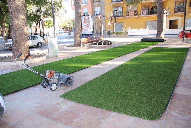 Última tecnología en material para zonas de juegos en los jardines de Alhama, Foto 4