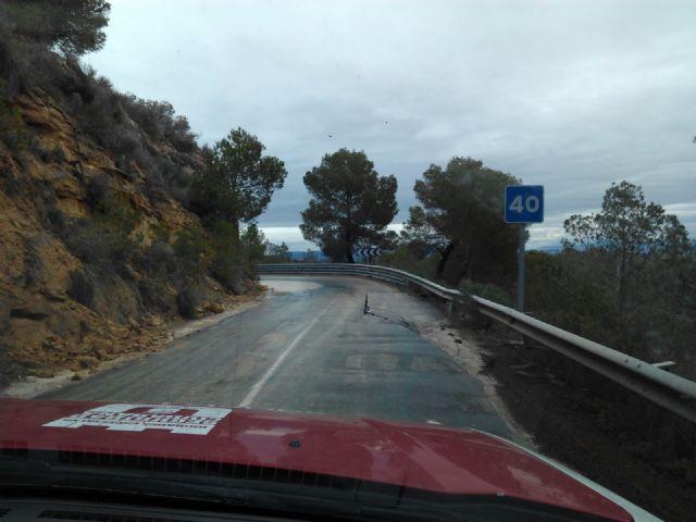 El Ayuntamiento de Alhama solicita el arreglo urgente de la carretera de Gebas, Foto 1