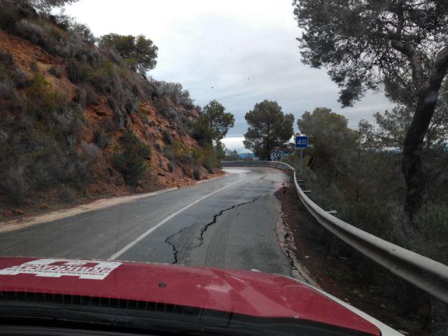 El Ayuntamiento de Alhama solicita el arreglo urgente de la carretera de Gebas, Foto 2
