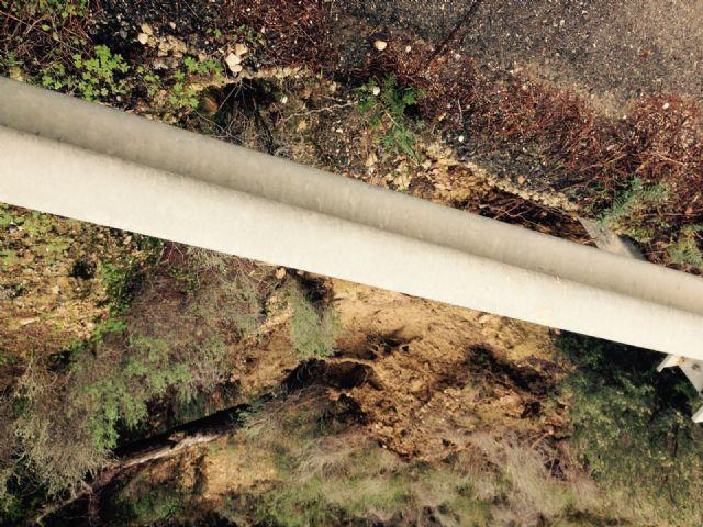 El Ayuntamiento de Alhama solicita el arreglo urgente de la carretera de Gebas, Foto 4