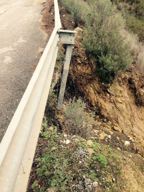 El Ayuntamiento de Alhama solicita el arreglo urgente de la carretera de Gebas, Foto 5