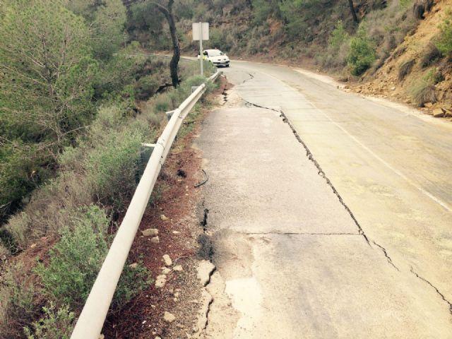 El Ayuntamiento de Alhama solicita el arreglo urgente de la carretera de Gebas, Foto 7