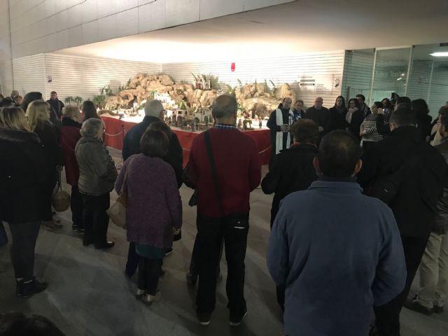 La inauguración del Belén municipal contó con la actuación de la Rondalla Virgen de los Dolores y los Coros y Danzas Ntra. Sra. del Rosario - 3, Foto 3