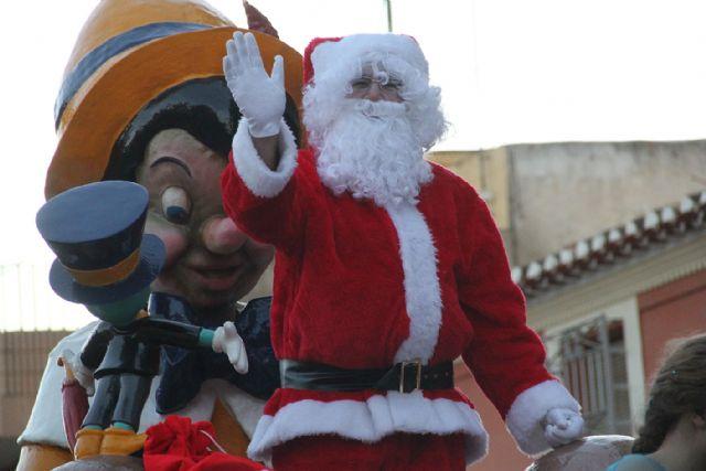 Papá Noel llena de luz e ilusión las calles de Puerto Lumbreras - 2, Foto 2