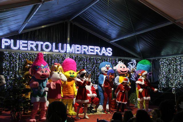 Papá Noel llena de luz e ilusión las calles de Puerto Lumbreras - 3, Foto 3