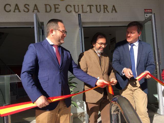 La Comunidad aporta 160.000 euros a la reforma de la Casa de la Cultura de Fuente Álamo, que reabre hoy tras las obras - 1, Foto 1