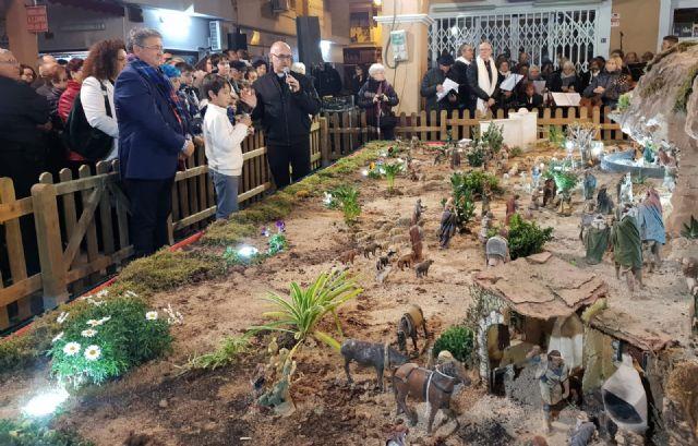 Inaugurado el  Belén municipal de Los Alcázares, premiado en cinco ocasiones por la Asociación de Belenistas de la Región - 1, Foto 1