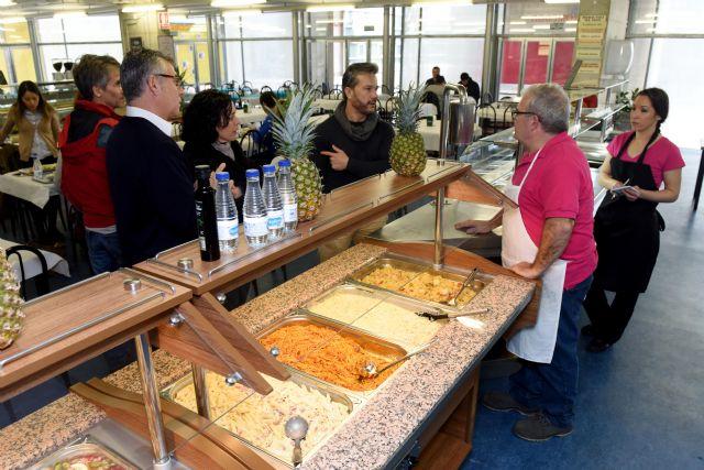 La UMU ofrece nuevos servicios de cafetería y comedor en la Facultad ...