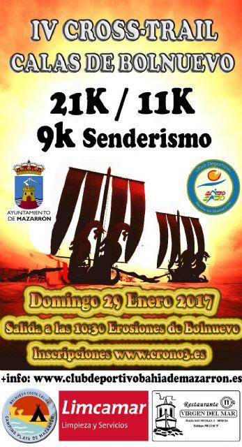 Más de 450 corredores participan este domingo en el IV cross calas de Bolnuevo, Foto 2