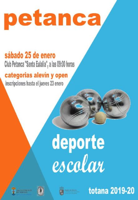 This Saturday, January 25 will take place the Petanque Local Phase of the School Sports program