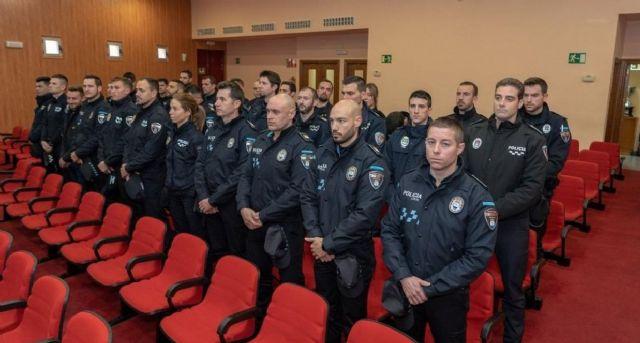 Francisco Alberti Moya toma posesión de su cargo como agente de la Policía Local de Bullas - 4, Foto 4