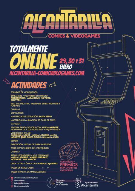 Alcantarilla programa un encuentro digital sobre cómic, ilustración y videojuegos el próximo fin de semana - 2, Foto 2