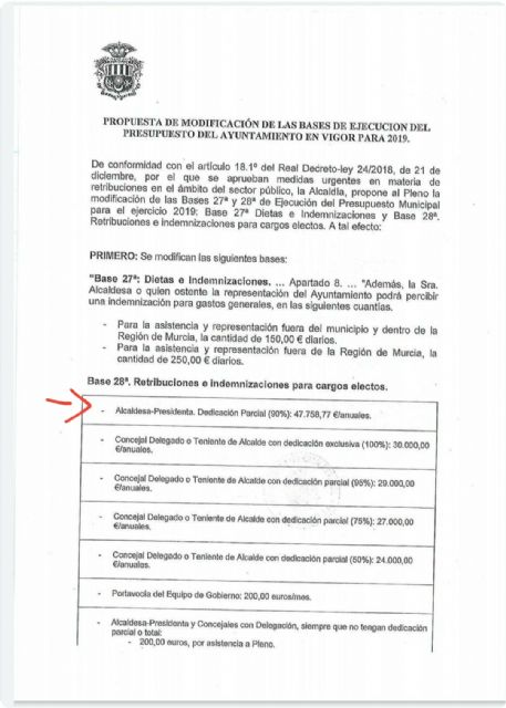 El PSOE se pregunta si es prioritaria la vacunación de la alcaldesa de Archena - 3, Foto 3