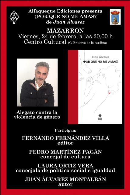 Juan Álvarez presenta en Mazarrón