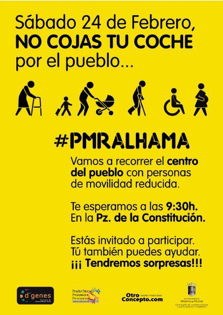 Participa este sábado en la marcha a favor de las personas con movilidad reducida, Foto 3